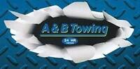 A&B TOWING Requires Class 5 Drivers to start Immediatley