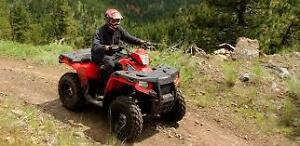 I'm looking for project quads and snowmobiles. Running or not