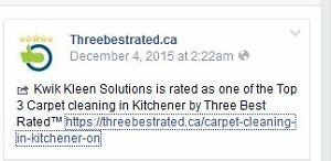 Carpet cleaning specials - Kitchener, Waterloo, Cambridge areas Kitchener / Waterloo Kitchener Area image 5