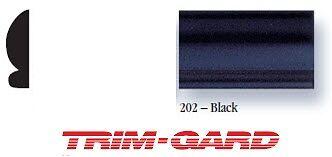 12 x 20 Roll Universal All Black Trim Gard Wheel Well Molding With Lip
