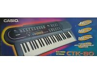 Casio CTK-80 electric keyboard piano will accept offers