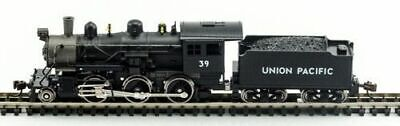 MODEL POWER 87616 N Scale Union Pacific Steam 2-6-0 Mogul NEW