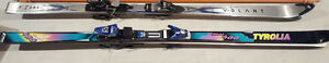 $129 each pair of skis VOLANT 177 + TYROLIA 188