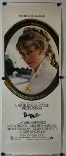 "Daisy Miller 1974 Original Insert Movie Poster 14"" x 36"""