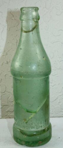 Green Cove Springs Fla Vintage Clay County Bottling Works Soda Bottle 6 oz