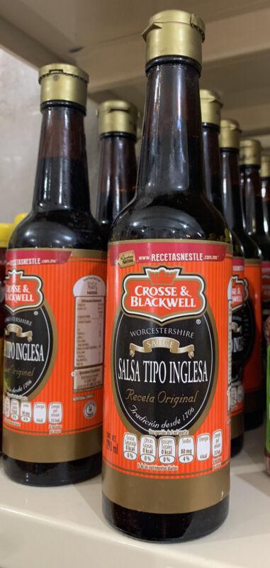 CROSSE & BLACKWELL  X1 Salsa Tipo Inglesa –  Worcestershire Sauce 290ml
