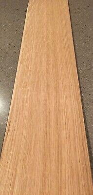 White Oak Wood Veneer - Heavy Flake 5 Sheets 36 X 8 10 Sq Ft