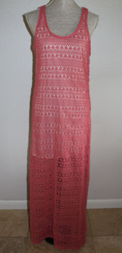 LC LAUREN CONRAD Women's Long Beautiful Crochet dress     SZ:L  Gently used!