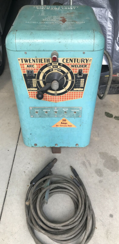 Vintage Arc Welder Twentieth Century Early. Working. Rare 41B Minn USA
