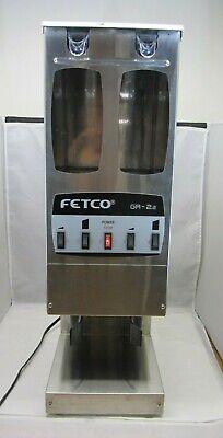 Fetco Dual Hopper Coffee Grinder Gr-2.2