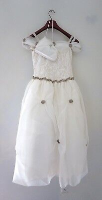 Mischka Aoki Luxury Couture Girls Party Custom Made Dress Size 12/14 $2500