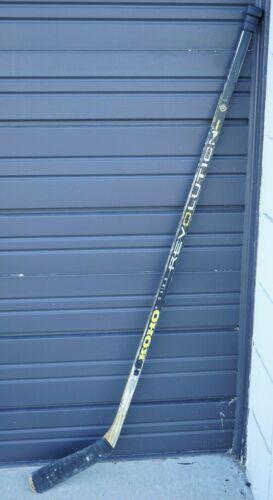 Vintage KOHO Revolution 2240 Lemieux Black Fibre Hockey Stick