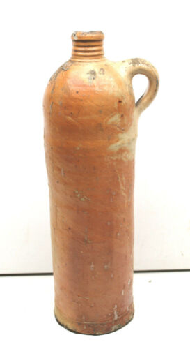 Antique 1800s Nassau Selters Mineral Water German Stoneware Bottle Salt Glaze