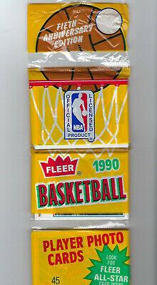 1990-91 Fleer Basketball Rack Pack POSSIBLE MICHAEL JORDAN  45 Cards Per Pack 1990 Fleer Rack