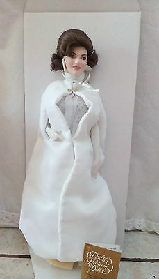 """JACQUELINE KENNEDY """"Inaugural Ball"""" Doll Porcelain Heirloom for sale  Duluth"""