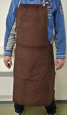 Arbeitsschürze Braun Metallverarbeitung breite 80 cm x länge 100 cm