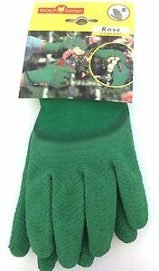 WOLF GARTEN Gardening Gloves Rose Comfort Small/Medium NEW 7760 Thorn Resistant