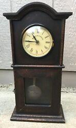 Park Designs Vintage Clock Bedford Clockworks Mantel, Shelf Or Can Be hung Nice!