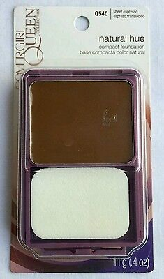 CoverGirl Queen Collection Natural Hue Compact Foundation SHEER ESPRESSO Q540