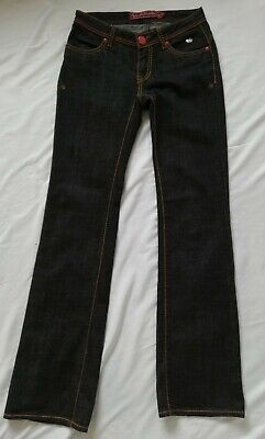 Ladies Apple Bottoms Straight Leg Jeans Size 5/6 UK 8 - 10 W30