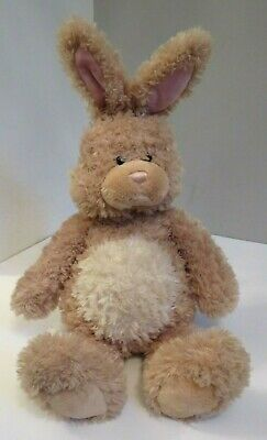 GUND 46713 LARGE BEIGE BUNNY RABBIT FLUFFY SOFT TOY COLLECTIBLE 19'' EXCELLENT for sale  Shipping to Ireland