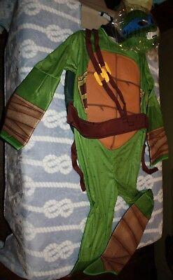Leanardo Ninja Turtles halloween costume boys large 12-14 stuffable shell new - Halloween Costume Ninja Turtle Shell