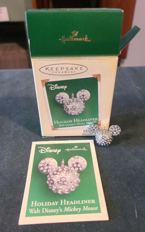 NIB, Hallmark Keepsake Miniature Ornament - Walt Disney