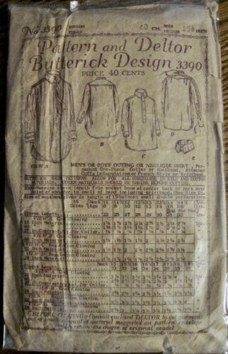Vintage 1919 Butterick Men