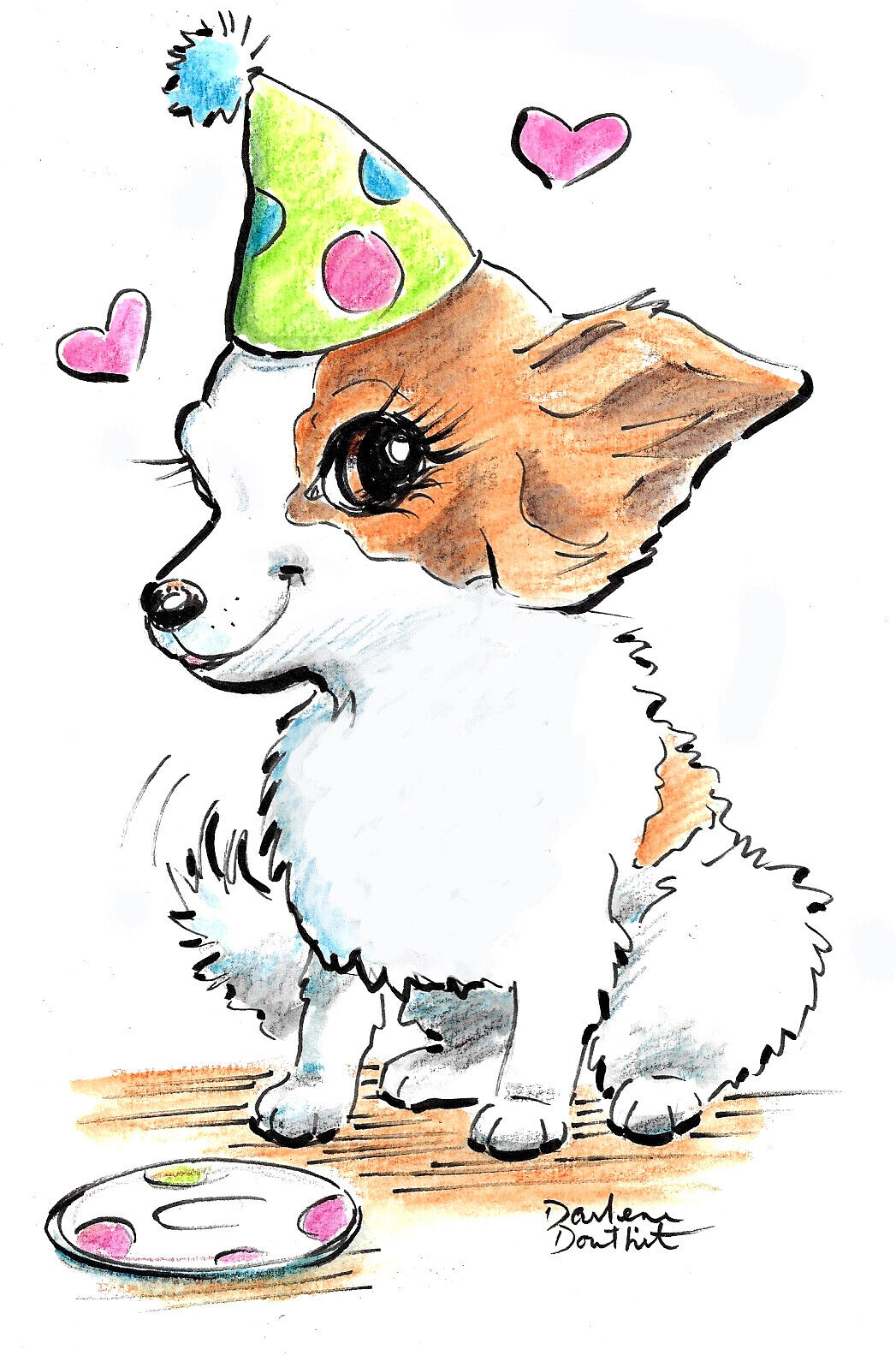 REDUCED SALE Caricature Pet Body From Your Photo You Print Digital Download  - $20.95