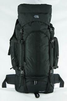 NEW 80Litre Heavy-Duty Water-Proof Backpack, Black