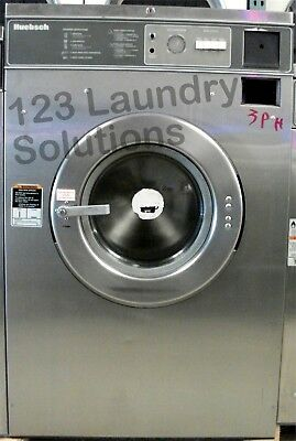 Huebsch Front Load Washer 208-240v Stainless Steel Hc35md2ou20001 Used