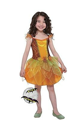 New Fall Autumn Fairy Totally Ghoul Girls' Dress Halloween Costume - Fall Fairy Costume
