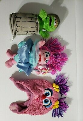 Oscar the Grouch Sesame Place 2012 Seaworld And Abby Cadabby With Toddler Hat](Abby Cadabby Hat)