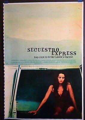 Secuestro Express (2005) Original 28x41 PRINTERS TEST PROOF Movie Poster