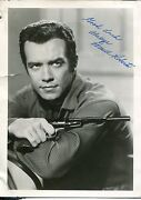 Signed Actor Photo