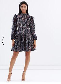 TALULAH  Breaking dawn mini dress