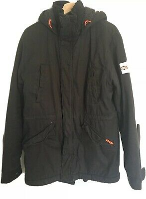 Men's Superdry Rookie Military Fishtail Parka, Size XL