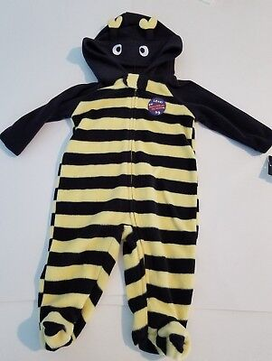 Infant Unisex Holiday Editions Black & Yellow Bumble Bee Halloween Costume 3-6M