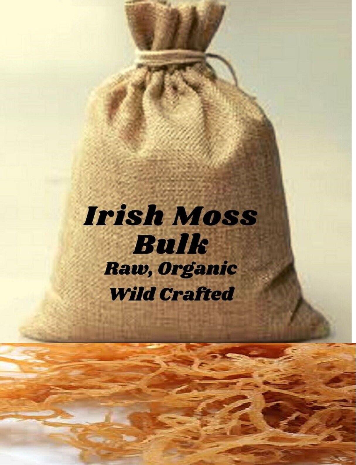 Whole Leaf Irish Moss Sea Moss + Bulk buy and Save $$ Wholesale Prices Free Ship