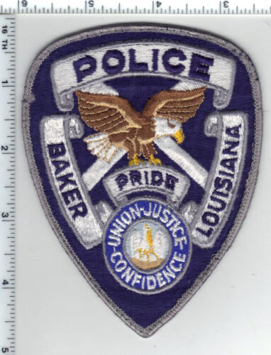 City of Baker Police (Louisiana) uniform take-off shoulder patch