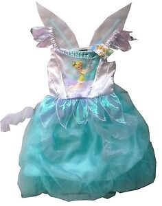 Disney-Princess-TINKERBELL-Fairy-Fairies-Fancy-Dress-up-Costume-Party-NEW