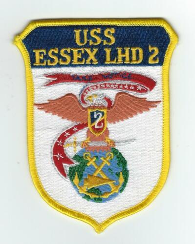 USS ESSEX  LHD-2  patch