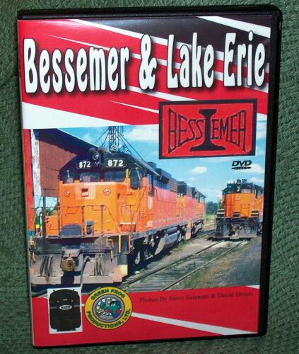 "20402 TRAIN RAILROAD DVD ""BESSEMER & LAKE ERIE  B&LE"""