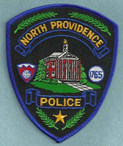 NORTH PROVIDENCE RHODE ISLAND POLICE SHOULDER PATCH