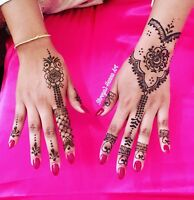 **Offering henna services in Milton, Mississauga, Brampton**