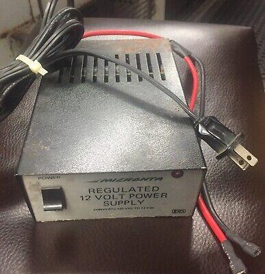 Micranta Regulated 12 Volt Power Supply Cat No 22-127 D