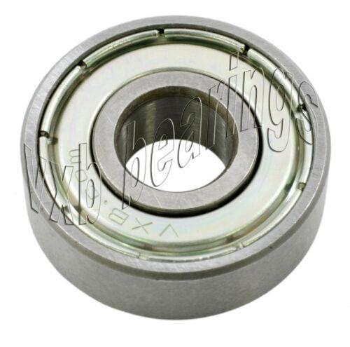 R166 Zz Z 2z Ball Bearing 3/16x 3/8x 1/8 Shielded