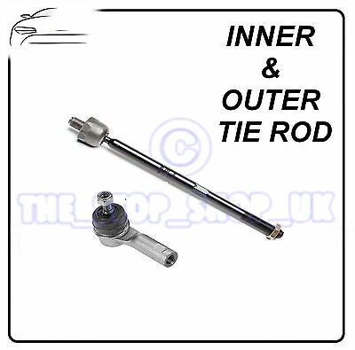 Citroen C2/C3 PLURIEL/ c3 RIGHT Inner & Outer Tie Rod End