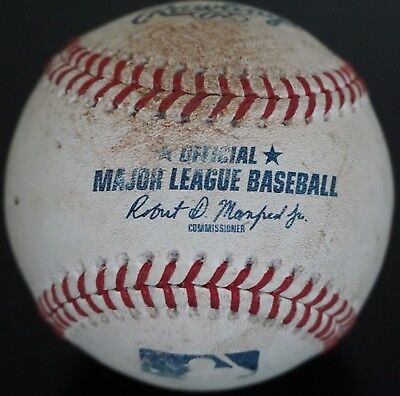 - Real Authentic Official Rawlings Major League Baseball MLB Ball Used As-Is