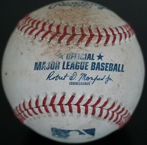 Real Authentic Official Rawlings Major League Baseball MLB Ball Used As-Is
